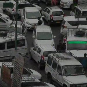 Manali traffic